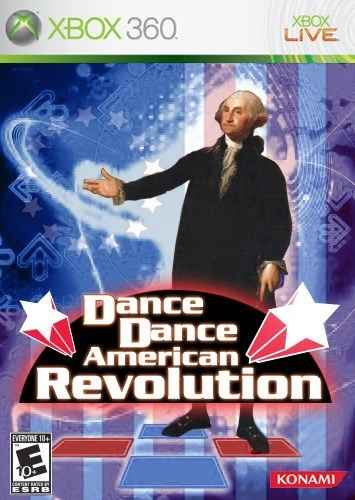 dance dance revolution,george washington,dance dance american revolution