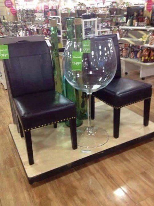 that is one big wine glass