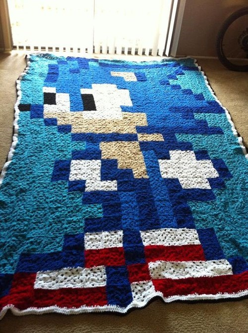 rug handmade sonic - 8413973248