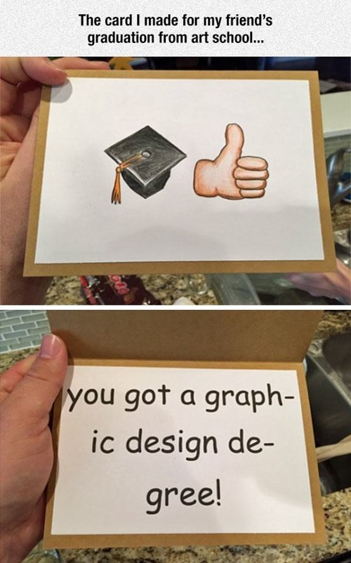 school graduation comic sans