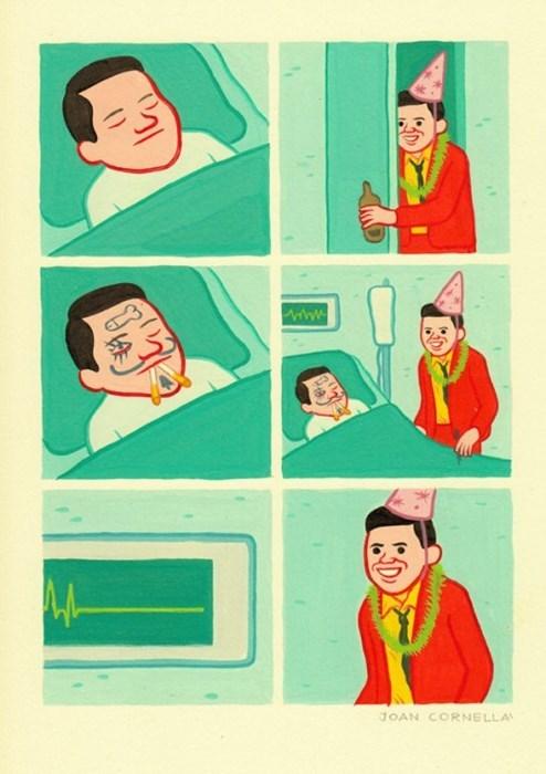 Death dark hospital pranks web comics - 8414041088