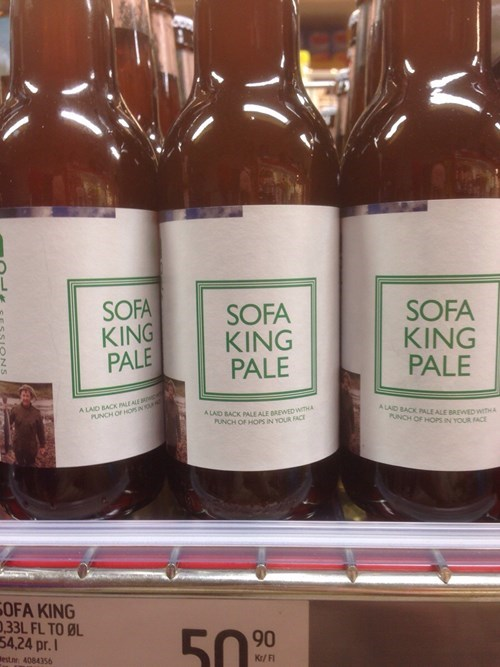 beer pale sofa king funny after 12 - 8414124032