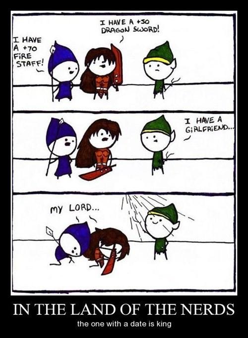 king wizard nerd funny