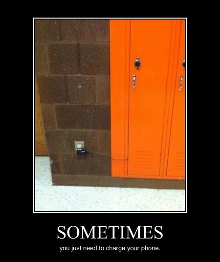 charger,locker,phone,funny