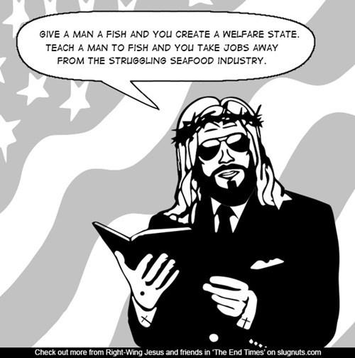 jesus fish politics web comics - 8414548224
