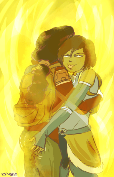 korrasami book 4 series finale Fan Art korra - 8414595328