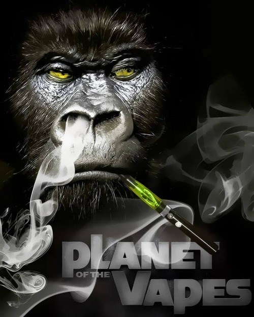 vape,Planet of the Apes,weed,funny