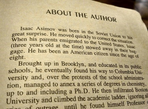 author,literature,isaac asimov,funny