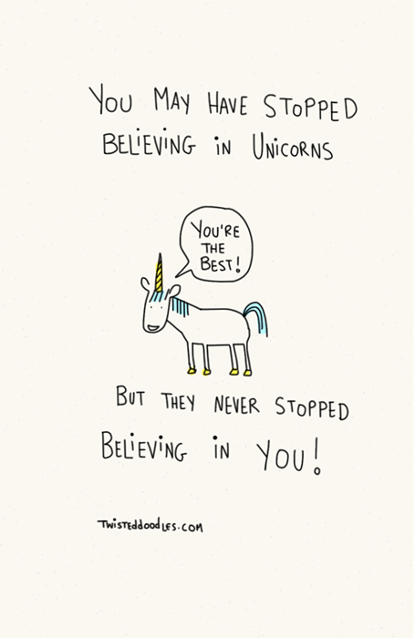 motivation unicorns web comics - 8414815744