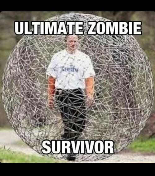 survivor hamster ball zombie - 8414820608