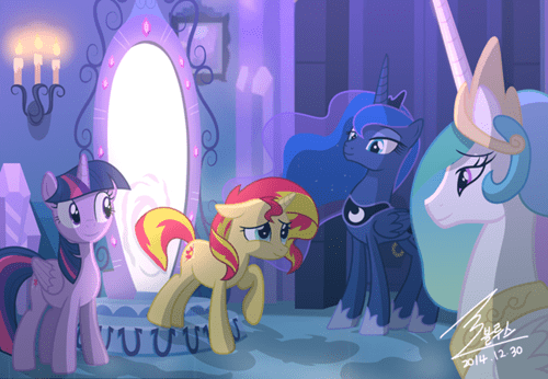 reunion prodigal pony sunset shimmer - 8414833664