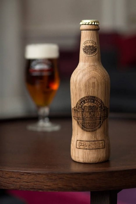 wooden beer manly funny