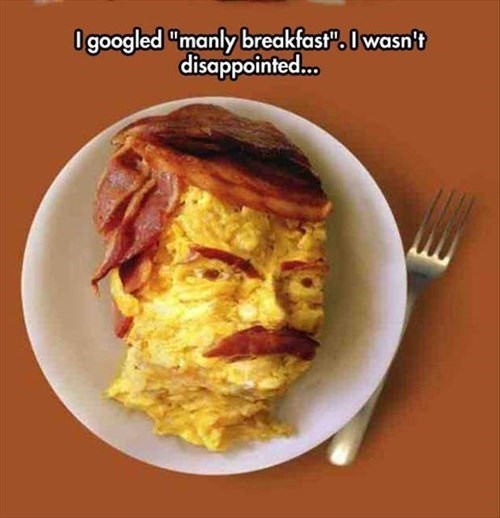 breakfast ron swanson - 8414944512