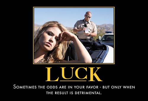 cops,luck,ticket,funny