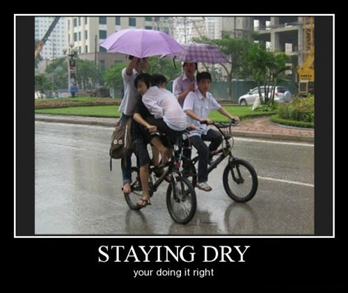 umbrella,kids,bikes,funny,rain