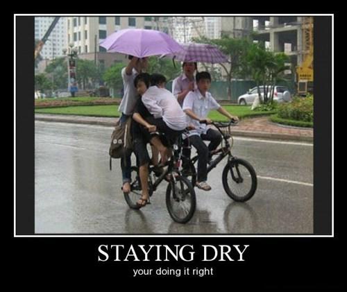 umbrella kids bikes funny rain - 8415015168