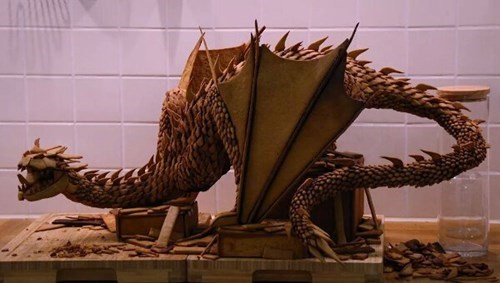 dragon The Hobbit smaug gingerbread - 8415371264