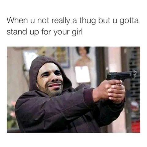 tumblr Drake thugs - 8415405056