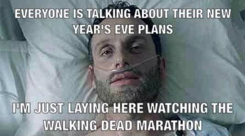 new years marathon The Walking Dead - 8415550464