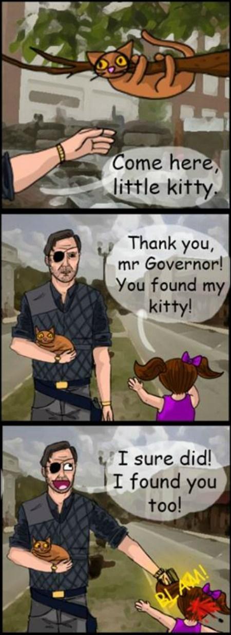 the governor comics kitty - 8415567104