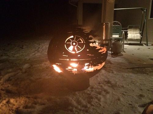 star wars design fire nerdgasm Death Star g rated win - 8415631104