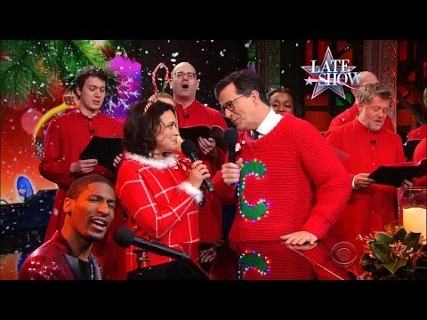 Video Watch Stephen Colbert and Nora Jones Sing the Actual Worst Christmas Song Ever Written