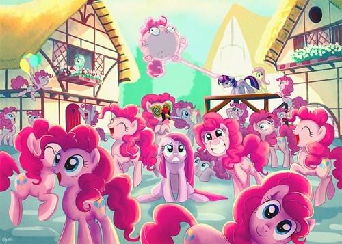 too many Fan Art pinkie pie - 8416567296