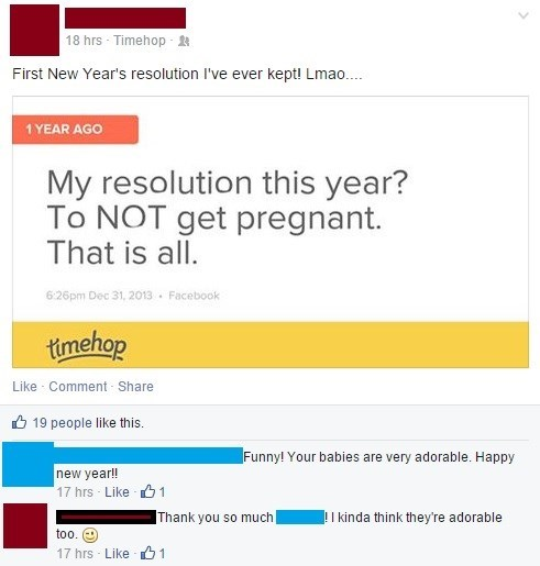 new years resolutions pregnant resolution failbook - 8416658688