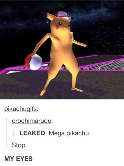 wtf,mega pikachu,pikachu