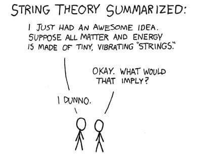 confusing String Theory science funny
