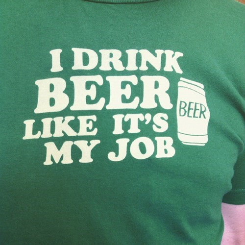 beer,professional,job,t shirts,funny