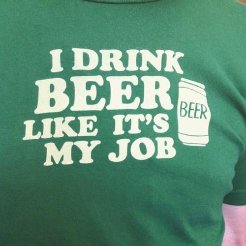 beer professional job t shirts funny - 8416919040