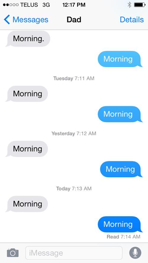 parenting,texting