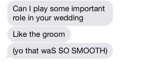 pickup lines,smooth,wedding,funny