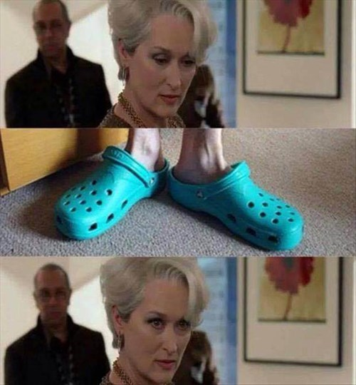 crocodile,poorly dressed,the devil wears prada