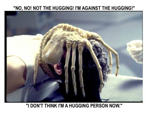 Aliens face hugger dream crab 12th Doctor