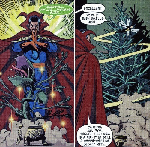 doctor strange christmas Straight off the Page - 8417041408