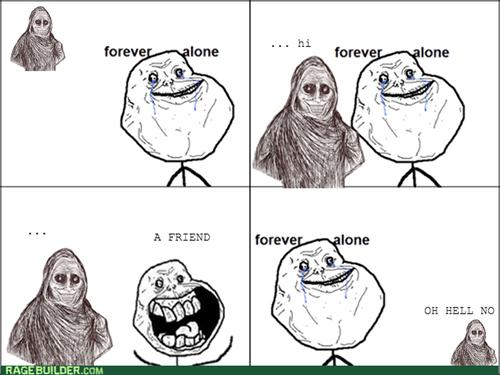 forever alone,shadowlurker