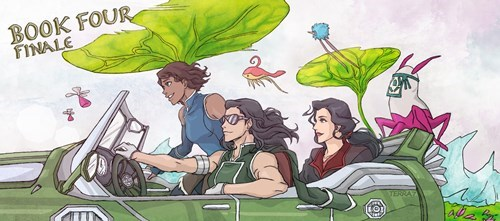Fan Art korra book 4 - 8417048064