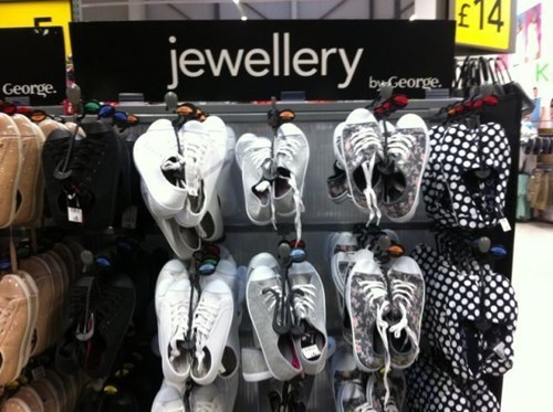 Jewelry shoes poorly dressed - 8417059328