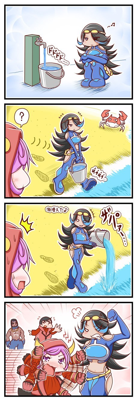 expand sea Pokémon team aqua web comics