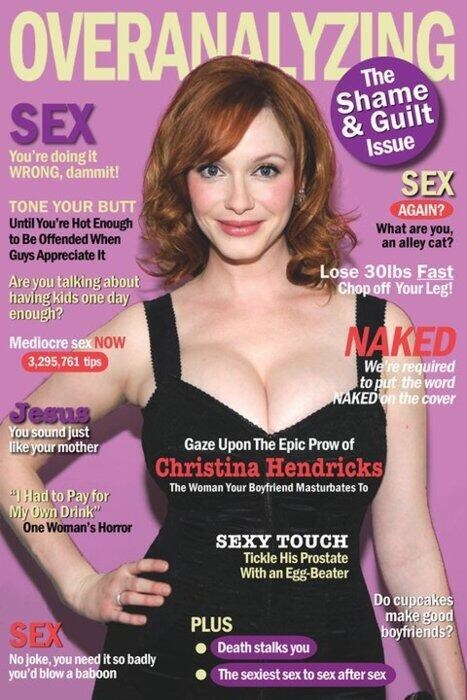 Christina Hendricks,cosmo,funny,women