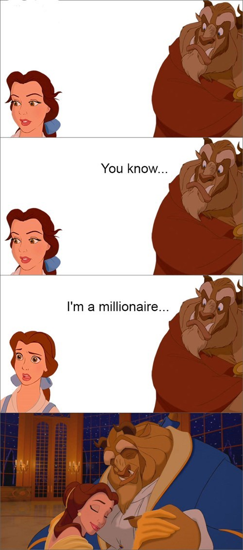 Beauty and the Beast funny women g rated dating disney - 8418853376
