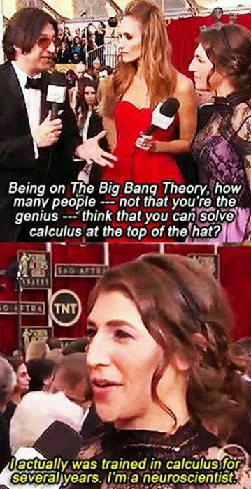 big bang theory calculus science neuroscience math funny