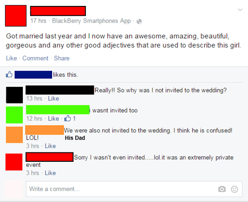 wtf,facebook,wedding,married,funny,dating
