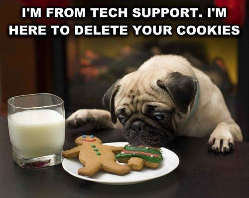 dogs pug puns cookies - 8419173376