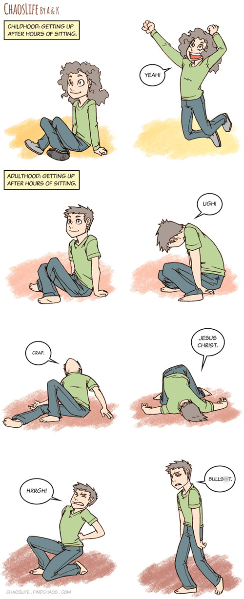 growing up,sad but true,sitting,web comics