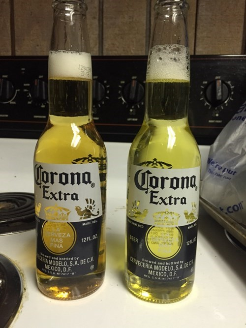 One of These Bottles Has Beer in it, the Other Has Pee. Which Is Which?