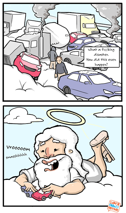 god,cars,sad but true,accidents,web comics