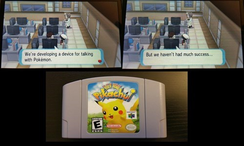 Pokémon hey you pikachu self deprecating - 8419364608